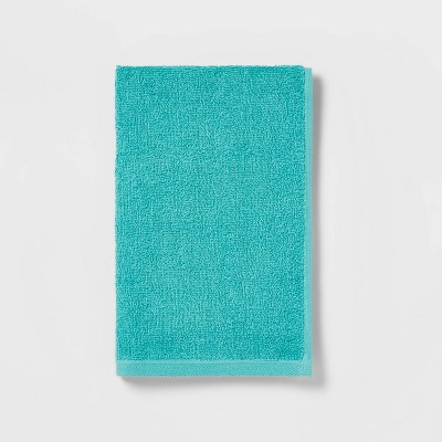 Everyday Solid Hand Towel Turquoise - Room Essentials™