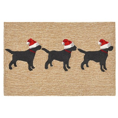 Natural Dogs Tufted Accent Rug 2'X3' - Liora Manne