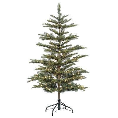 4.5ft Pre-lit Artificial Christmas Tree Alaskan Fir