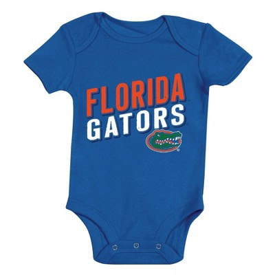 NCAA Florida Gators Baby Boys' 3pk Bodysuit Set - 6-9M