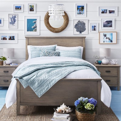 Bright White & Blue Beach Bedroom Collection : Target