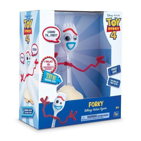 Disney Pixar Toy Story 4 Forky Free Wheeling Talking Action Figure image number null