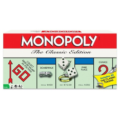 Winning Moves Monopoly - The Classic Edition Game