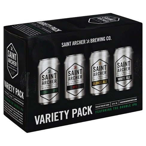 Saint Archer® Variety Pack Beer - 12pk / 12oz Cans - image 1 of 1