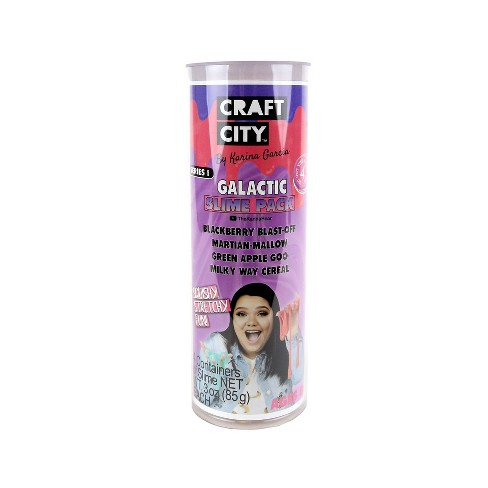 Karina Garcia 4pk Collectible Slime- Galactic Slime by Craft City - image 1 of 4