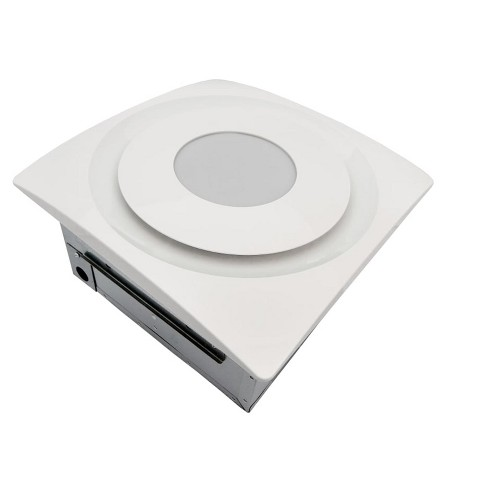 Aero Pure AP124-SL 120 CFM 0.7 Sone Ceiling Mounted Combination Exhaust Fan - image 1 of 1