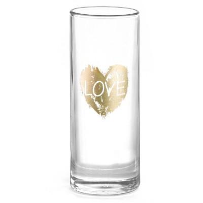 Love Heart' Clear Vase
