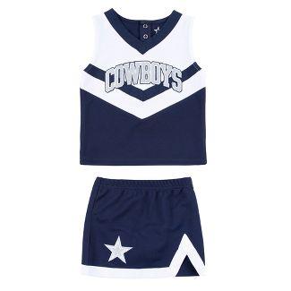 Dallas Cowboys Toddler Victory Cheer Set 3T dfd74edb7