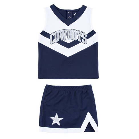 low priced 43673 9a7cd Dallas Cowboys Toddler Victory Cheer Set 3T