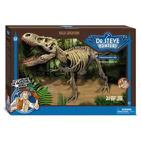 Geoworld Dr. Steve Hunters Paleo Expeditions Kit - T. Rex - image 1 of 5
