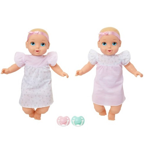 """Perfectly Cute 14"""" My Sweet Baby Twin 10pc Set - Blonde with Blue Eyes - image 1 of 4"""