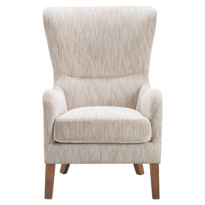 Warner Two-Toned Wingback Chair - Finch