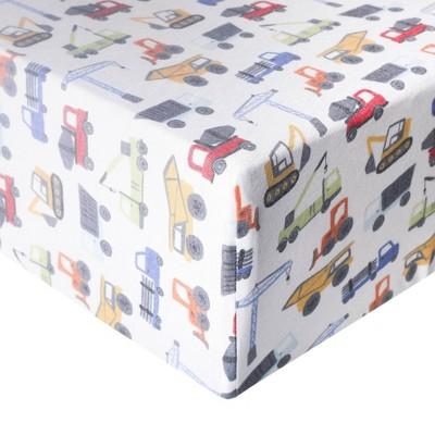 Copper Pearl Premium Crib Sheet - Diesel