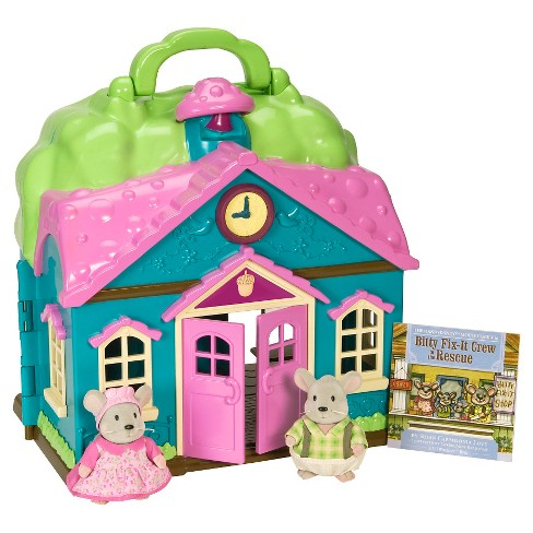 Li'l Woodzeez Large Playset - School House - image 1 of 3
