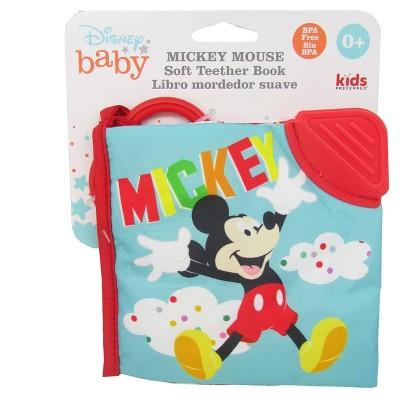 Disney Baby Mickey Mouse Soft Book Blue