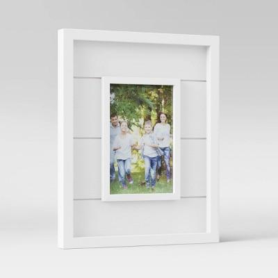 "4"" x 6"" Shiplap Table Frame White - Threshold™"