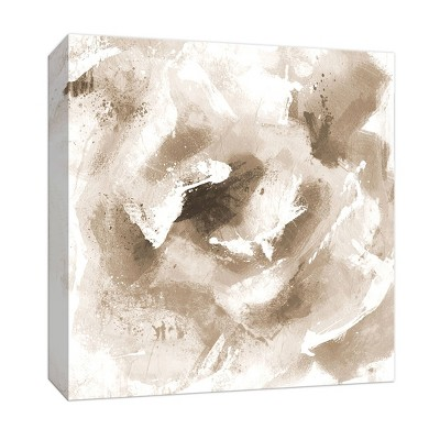 """12"""" x 12"""" Delicate White Rose Decorative Wall Art - PTM Images"""