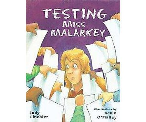 Testing Miss Malarkey (Reprint) (Paperback) (Judy Finchler) - image 1 of 1