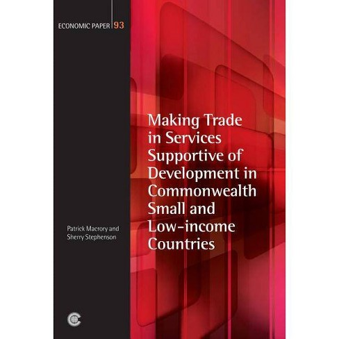 Making Trade in Services Supportive of Development in Commonwealth Small and Low-Income Countries - image 1 of 1