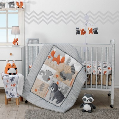 Bedtime Originals Nursery Crib Bedding Set - Acorn 3pc