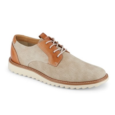 Dockers Mens Edison SMART SERIES Dress Casual Canvas Oxford Shoe with NeverWet