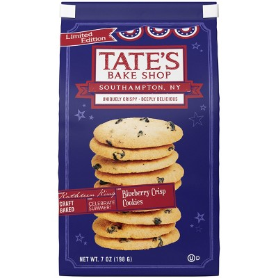 Tate's Bakeshop Blueberry Crisp Limited Edition Cookies - 7oz