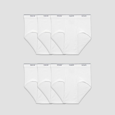 Fruit Of The Loom Men's Big & Tall Briefs 6pk - White