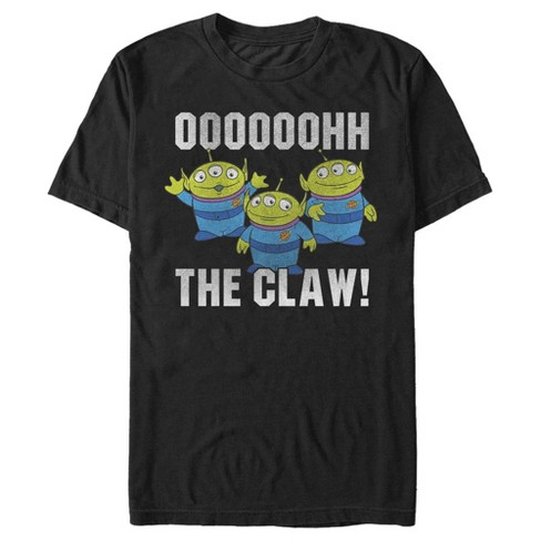 Toy Story Men's The Claw Squeeze Alien T-Shirt - image 1 of 1