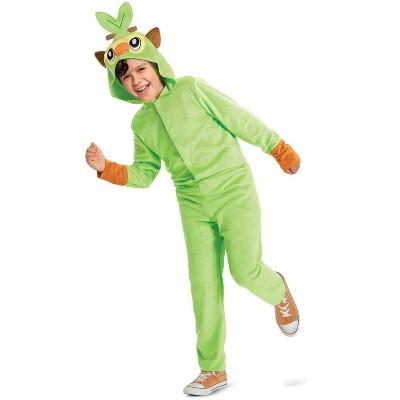 Pokemon Grookey Hooded Jumpsuit Classic Child Costume