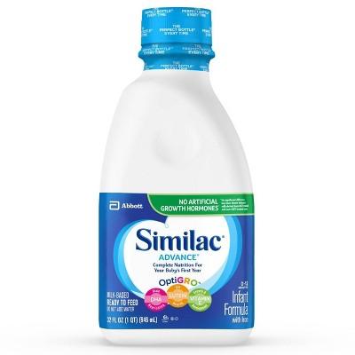 Baby Formula: Similac Advance Ready-to-Feed