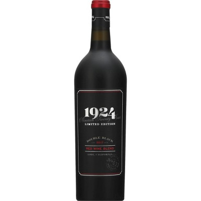 Gnarly Head 1924 Double Black Red Blend Wine - 750ml Bottle