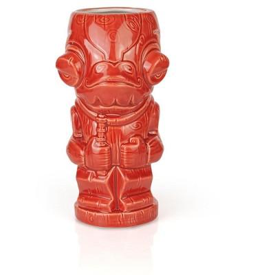 Beeline Creative Geeki Tikis Star Wars Admiral Ackbar Mug   Ceramic Tiki Cup   Holds 19 Ounces