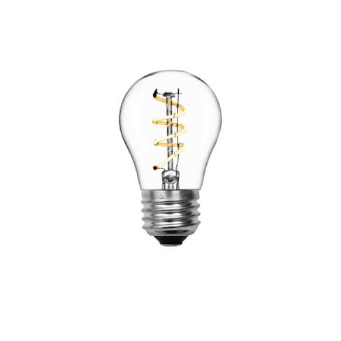 Ceiling Fan Spiral Clear Led Light Bulb
