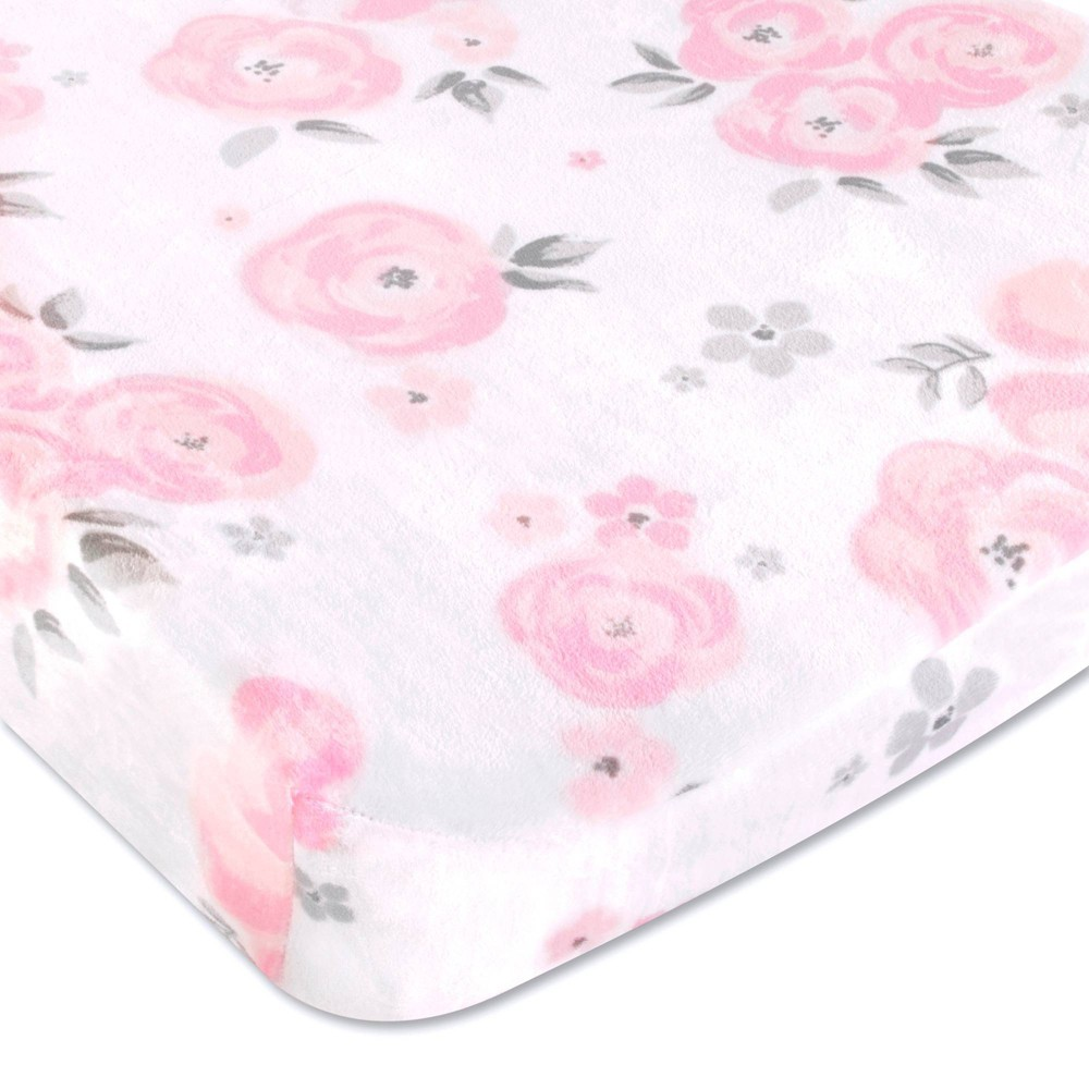 Image of Wendy Bellissimo Floral Savannah Changing Pad Cover