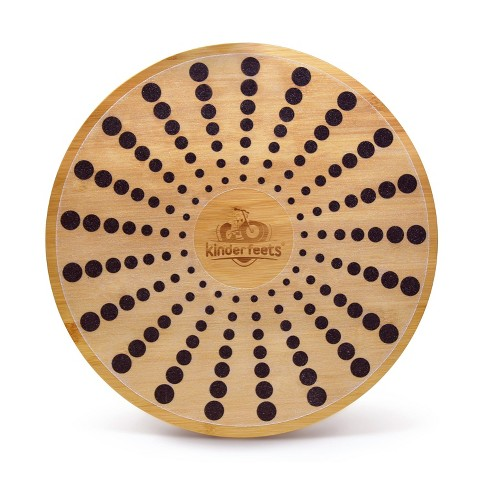 Kinderfeets Bamboo Wooden Round Balance Board Disk for Toddlers, Kids, Teens, and Adults - image 1 of 4