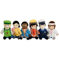 HAPE Professional Puppets  - Set of 6