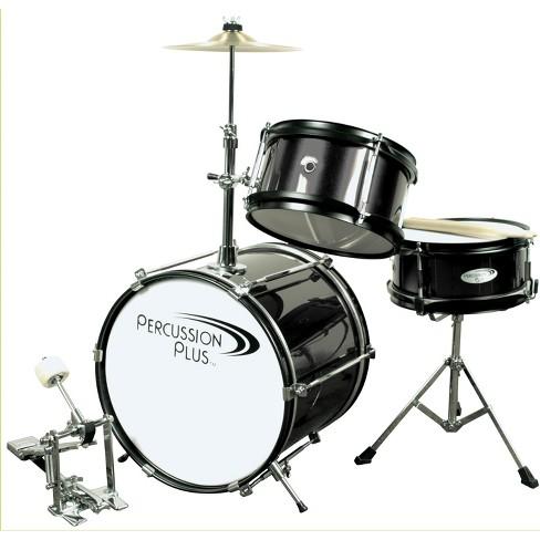 Percussion Plus Drums 3pc Mini Drum Set - Black - image 1 of 1