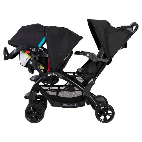 Baby Trend Sit N Stand Double Stroller Moonstruck