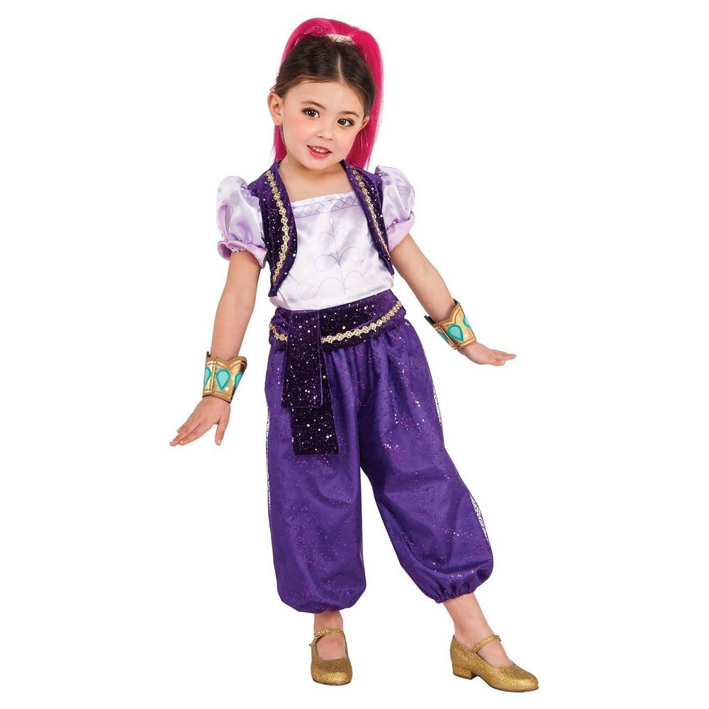 Image of Halloween Girls Shimmer & Shine: Shimmer Deluxe Costume - Small, Girl's, MultiColored