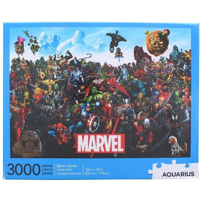 Aquarius Marvel Cast 3000 Piece Jigsaw Puzzle