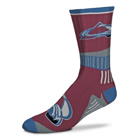 NHL Colorado Avalanche Sport Big Crew Sock - image 1 of 1