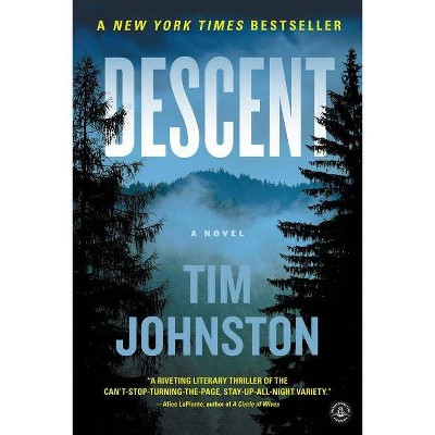 Descent (Reprint) - by Tim Johnston (Paperback)