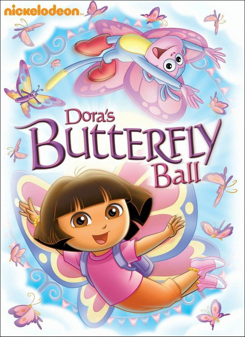 Dora the Explorer: Dora's Butterfly Ball (dvd_video) - image 1 of 1