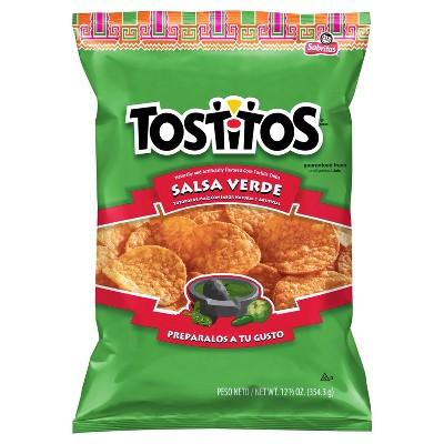 Tortilla & Corn Chips: Tostitos Salsa Verde