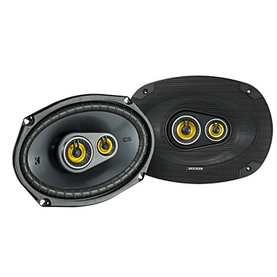 "Kicker 46CSC6934 CS-Series 6x9"" 3-Way Triaxial Speakers"