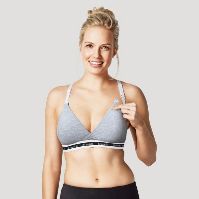 Bravado! Designs® Women's Original Nursing Bra - Gray Heather M
