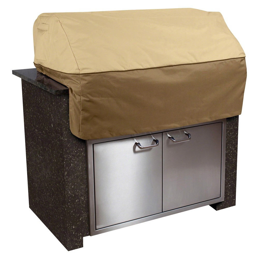 Veranda Island Grill Top Cover Pebble – Medium, Brown 14405908