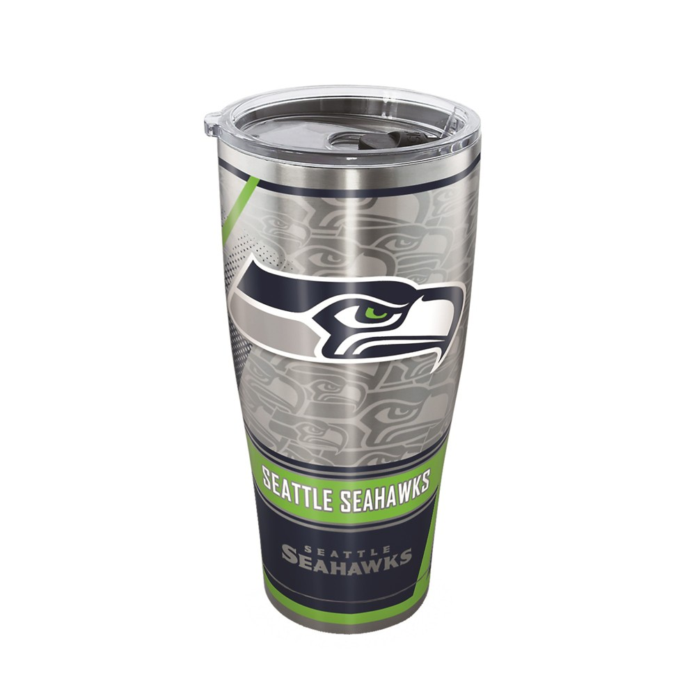 Tervis Nfl Seattle Seahawks Edge 30oz Stainless Steel Tumbler With Lid