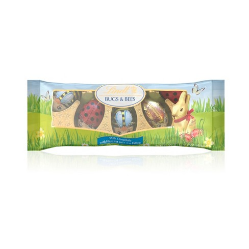 Lindt Easter Milk Chocolate Bugs & Bees - 5ct/1.76oz - image 1 of 2