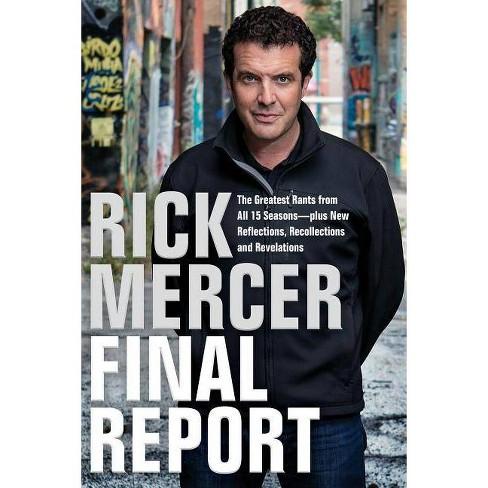 Rick Mercer Final Report - (Hardcover) - image 1 of 1